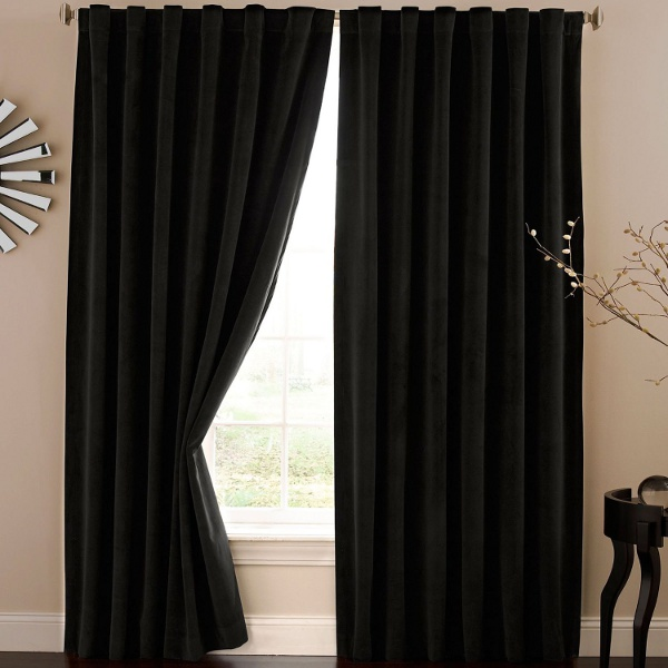 Absolute Zero Curtains, Heavy Velvet Blackout Curtains