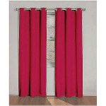 Eclipse Kids Dayton Energy Efficient Blackout Curtains Red