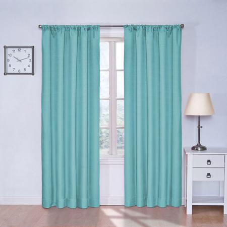 Eclipse Kendall Blackout Curtains For Kids, Teal