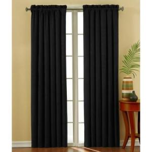 Eclipse Suede Energy Efficient Curtains Review - Medium Weight Curtains For Soundproofing