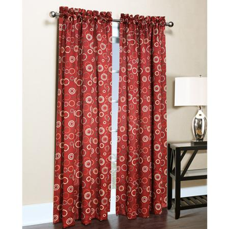 Sun Zero Emmett Curtains Red. Best Thermal Curtains. Best Insulated Curtains.
