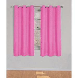 Eclipse Kids Dayton Energy-Efficient Curtain Raspberry Pink Thermal Curtain