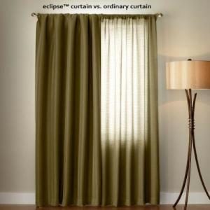 Eclipse Blackout Curtains Blackout Much More Light Than Ordinary Curtains.