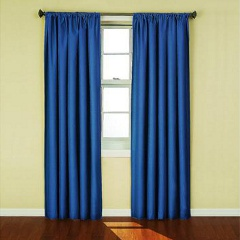 Eclipse Kendall Kids Blackout Curtains Denim