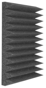 "Auralex Studiofoam Wedgies Soundproofing Foam ""Narrow Wedge"""