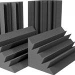 LENRD Bass Traps In Auralex Project 2 Roominator Kit Sound Absorbing Foam