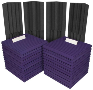 Sound Absorbing Foam Auralex Roominator Project 2 Kit